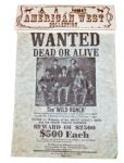 Replica Butch & Sundance Wild Bunch Wanted Poster